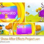 دانلود پروژه آماده افتر افکت برنامه کودک تلویزیونی Kids TV Show