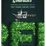 اکشن فتوشاپ ساخت برگ درخت Leaf Generator Photoshop Action