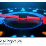 پروژه آماده افتر افکت کیلومتر شمار سرعت Redline After Effects Project