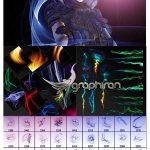 پک کامل براش و طرح های افکت انرژی دیجیتال Ron's Digital Energy