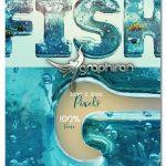 دانلود پک حروف انگلیسی ۳ بعدی سبک آب اقیانوس Aqua 3D Lettering