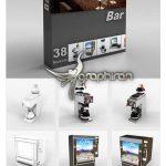 دانلود مدل های 3 بعدی لوازم کافه DigitalXModels 3D Model Collection Vol1 : Bar