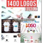 دانلود رایگان پک ۱۴۰۰ لوگوی آماده تجاری Logos Mega Bundle Pack