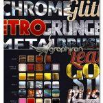 دانلود ۳۳ استایل متنوع فتوشاپ با کیفیت ۳۳x HQ Mixed Styles Pack