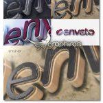 پروژه افتر افکت نمایش ۳ بعدی لوگو با افکت سنگ مرمر Elegant 3D Marble Logo