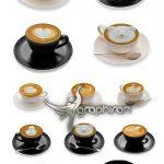دانلود عکس های استوک قهوه لاته با آرت Fotolia Latte Art Coffee