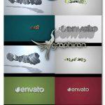 دانلود پروژه های افتر افکت نمایش ساده لوگو 3 بعدی Quick Clean 3D Logo Pack