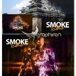 اکشن فتوشاپ ساخت افکت دود رنگی Smoke Effect Photoshop Action
