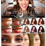 دانلود اکشن و براش میکاپ دیجیتالی در فتوشاپ Digital Makeup Kit for Photoshop