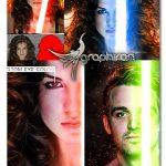 اکشن فتوشاپ ساخت طرح شمشیر نوری Light Saber Photoshop Action