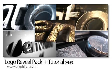 دانلود رایگان 5 پروژه افتر افکت نمایش لوگوی سه بعدی