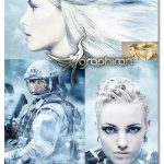 دانلود اکشن فتوشاپ طوفان برف Blizzard Photoshop Action