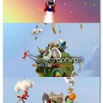 دانلود پروژه افتر افکت سیاره ی کودکان با اسباب بازی ها Kids Planet