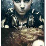 اکشن فتوشاپ ایجاد طرح بارش باران شدید Rainstorm 2 Photoshop Action