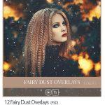دانلود تصاویر پوششی گرد و خاک جادویی Fairy Dust Overlays