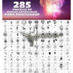 285 براش فتوشاپ آتش بازی سال جدید New Year Fireworks Photoshop Brushes
