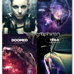 دانلود رایگان پک ۴ اکشن ویژه فتوشاپ ۴in1 Stunning Bundle vol.3