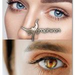 اکشن فتوشاپ افکت چشم شگفت انگیز Amazing Eyes Photoshop Action