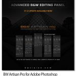 پلاگین فتوشاپ افکت عکس سیاه و سفید حرفه ای BW Artisan Pro v1.3