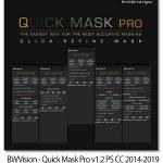 پلاگین فتوشاپ ماسک کردن سریع BWVision Quick Mask Pro v1.2