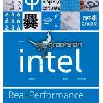 فونت رسمی شرکت اینتل فارسی و انگلیسی Intel Clear Font Family