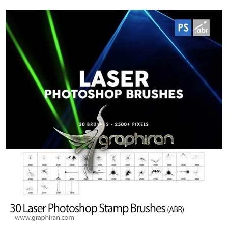 دانلود 30 براش فتوشاپ لیزر