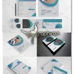 دانلود طرح لایه باز ست اداری کامل CreativeMarket Branding Stationery