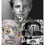 اکشن فتوشاپ هنر کلاژ چند عکس Collage Art Photoshop Action
