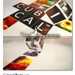 دانلود پروژه افتر افکت نمایش عکس در مکعب ها Cubical Photo