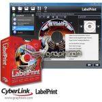 CyberLink LabelPrint 2.5.0.12508 نرم افزار طراحی و چاپ لیبل CD و DVD