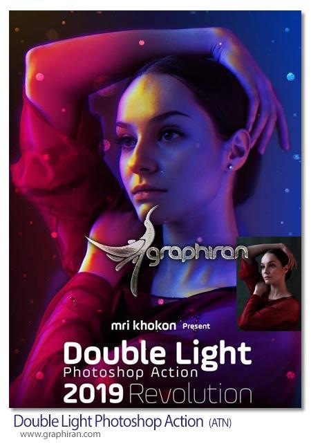 اکشن فتوشاپ ایجاد افکت های نوری رویایی
