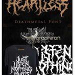 فونت دث متال خشن و پیچیده Heartless Deathmetal Font
