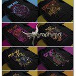 دانلود طرح های چاپی روی تیشرت حرفه ای Premium tshirt Bundle