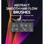 دانلود براش های فتوشاپ خطوط مویی Smooth Hair Flow Photoshop Brushes