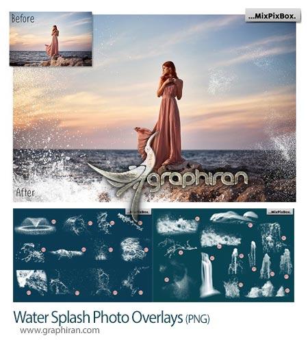 دانلود تصاویر پوششی پاشیدن آب