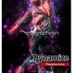 اکشن فتوشاپ افکت های نوری انتزاعی Amazing Dynamize Photoshop Action