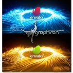 پروژه آماده افتر افکت بازکننده لوگو با شکل اصابت Impact Logo Opener