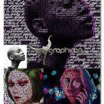 اکشن فتوشاپ افکت تایپوگرافی با متن Text Effect Photoshop Action