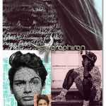 اکشن فتوشاپ ساخت تایپوگرافی پرتره Type Portrait Photoshop Action