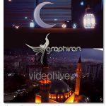 پروژه آماده افتر افکت لوگو با موضوع ماه رمضان Elegant Ramadan Logo