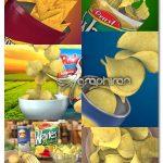 پروژه افتر افکت تیزر تبلیغاتی ۳ بعدی چیپس ۳D Chips Commercial