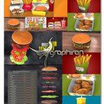 پروژه آماده افتر افکت تیزر تبلیغاتی فست فود Fast Food Template