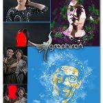 اکشن فتوشاپ انتشار پودر Pop Art Powder Explosion Action