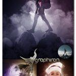 اکشن فتوشاپ افکت ابر و دود سینمایی Smoke Clouds Photoshop Action