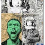 اکشن فتوشاپ طرح خطی موزاییکی Doodle Mosaic Art Photoshop Action
