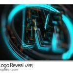 پروژه افتر افکت نمایش لوگو تکنولوژی Tech Logo Reveal