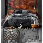 دانلود مدل سه بعدی ست اتاق خواب Bedroom Set 3 3D Model