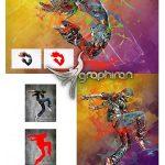 اکشن فتوشاپ افکت ریختن رنگ ها روی عکس Mixed Art Photoshop Action