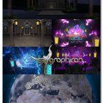پروژه افتر افکت زوم روی کره زمین ماه رمضان Universe Zoom In Out Ramadan Kareem
