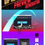 پلاگین افتر افکت رندر گروهی GIF و پیش نمایش aw_PreviewGenerator AE Script V1.6